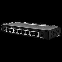 Коммутатор сетевой 8 портов 1 GB GreenVision GV-011-D-8PG Без POE