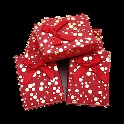 Коробочка 90x70x25 Красный