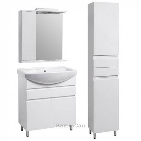 Комплект меблів ванний гарнітур 65 см з МДФ і ДСП КВЕЛЛ КАНТРІ 22244-22253-22261, фото 2