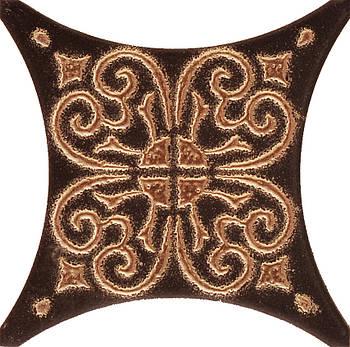 Декор Texas Mono Коричневий 100*100