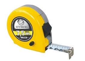 Рулетка вимірювальна 5мх19мм пластиковий корпус Сталь (38312), 22103