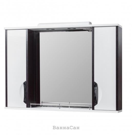 Зеркало в ванную 85 см контрастное КВЕЛ Принц Z11 Принц 85 КВЕЛ