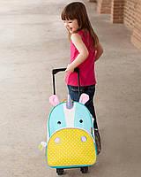 Детский маленький чемодан Skip Hop детская сумка на колесах оригинал