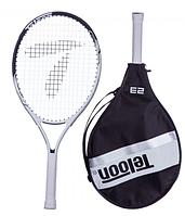 Ракетка для большого тенниса TELOON 2553-23 Белый-черный 23 дюймов