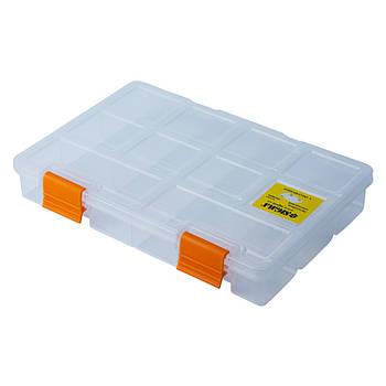 Органайзер пластиковий прозорий 195 × 140 × 32мм (7418021)
