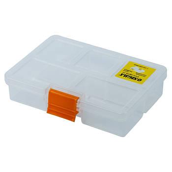 Органайзер пластиковий прозорий 135×100×30мм (7418011)