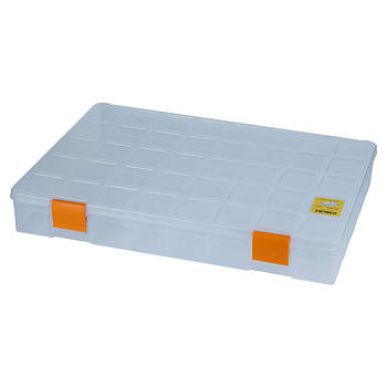 Органайзер пластиковий прозорий 380×285×56мм (7418061)