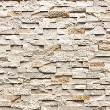 Гіпсова плитка «Живий камінь» пряма 330*90*25 мм (0,4 м2/14 шт.)