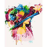 """Набір для розпису """"Колір жіночності"""" 40*50 см 10247-AC"""