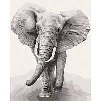 """Набір для розпису """"Африканський слон"""" 40*50 см 11629-AC"""