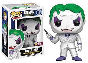 Фигурка Funko Pop Фанко Поп Batman Бэтмен The Joker Джокер 10 см B JK 116
