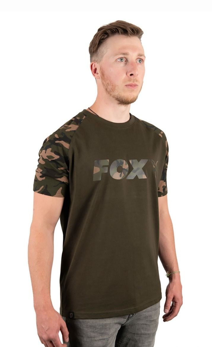 Футболка Fox CAMO Khaki Chest Print T-Shirt