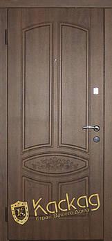 """Двері """"Стандарт """"FS"""" розет, Гранат, VIN темний горіх 860*1940 ліві"""