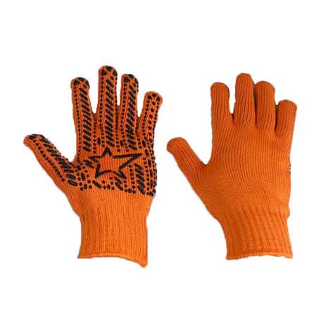 Перчатки робочие ХБ Звезда синтетическая нить, фото 2