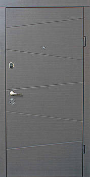 Двері Qdoors Еталон Нео 850 Л венге сір. гор. ТП