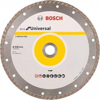 Алмазний диск ECO Univ.Turbo 230-22,23 (2608615039)
