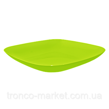 Тарілка 190*190*28 (оливковий) (167062) (10)