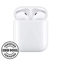 Бездротові навушники TWS i9s White + карабін та чохол