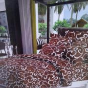 Комплект постільної білизни бязь Casa de Lux, двоспальний (CS225)