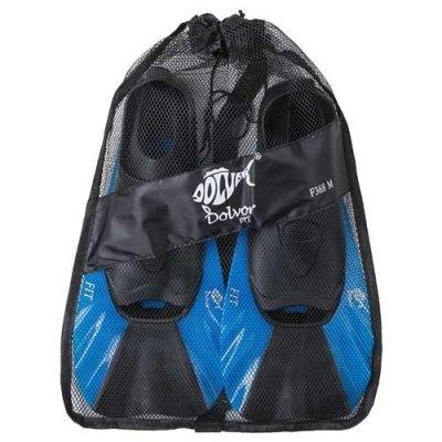 Ласты для бассейна синие 38-39 Dolvor Fit F368 SKL11-282264