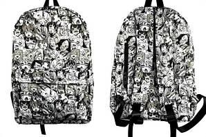 РюкзакАхэгао O-Face  Вайфу Waifu bagpack М25.52.329