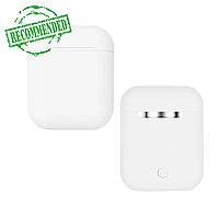 Бездротові сенсорні навушники TWS i12 Pods Білі