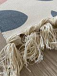 Бесплатная доставка! Хлопковый ретро коврик с бахромой для дома, фото 6