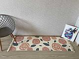 Бесплатная доставка! Хлопковый ретро коврик с бахромой для дома, фото 3