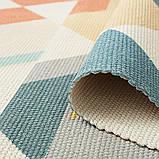 Бесплатная доставка! Хлопковый ретро коврик с бахромой для дома, фото 9