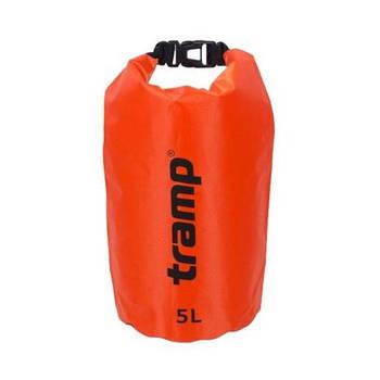 Гермомішок PVC Diamond Rip-Stop оранж. 5 л Tramp (TRA-110-orange)