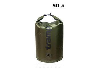 Гермомішок PVC Diamond Rip-Stop олив. 50 л Tramp (TRA-208-olive)