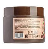 Солевой скраб-эксфолиант для тела клубника и шоколад полирующий Compliment 400 мл., фото 3