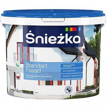 В/е фарба Снєжка Стандарт Фасад білий 4,2 кг