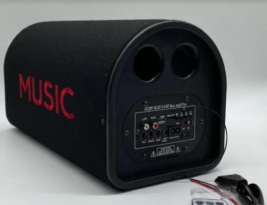 Автомобильная беспроводная колонка 8013, портативная акустика 8, Автомобильный активный сабвуфер с усилителем
