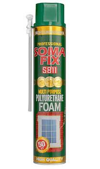 Піна монтажна SOMA FIX ручна 750мл всесезонна (S811)