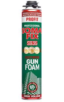 Піна монтажна Soma Fix професійна всесезонна PROFIT 800 мл (S935) 65л.