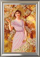 """Схема для вышивки бисером """"Цветущий сад"""""""