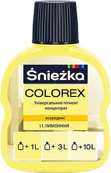 """Барвник """"Снєжка"""" (11) лимонний (100мл) (12385)"""