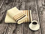 Светлый набор полотенец баня + лицо (2 шт.), фото 2