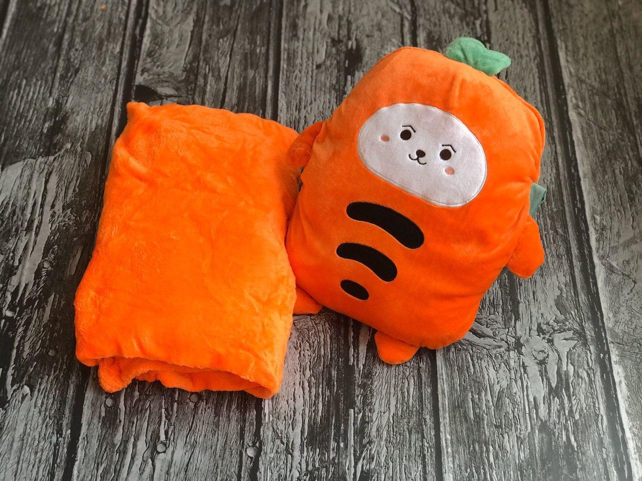 Плед іграшка помаранчевий