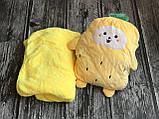Плед іграшка помаранчевий, фото 2