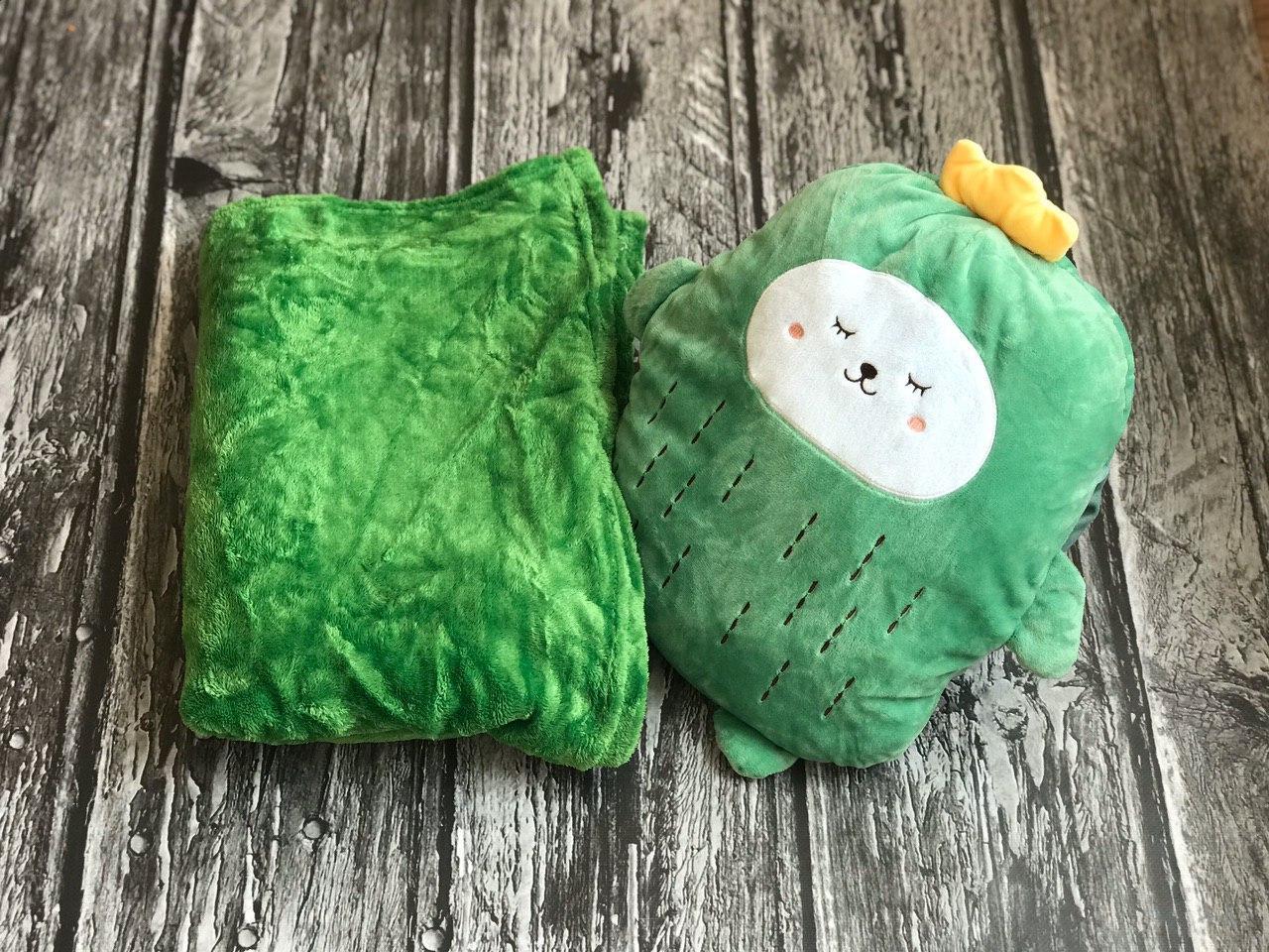 Игрушка плед зеленый