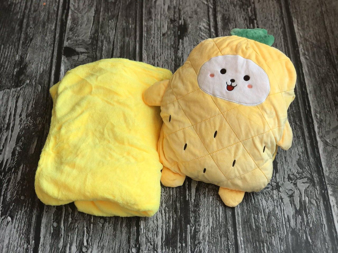 Игрушка плед желтый