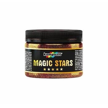 "Гліттер MAGIC STARS ""Kompozit"" (бронза, 60 г)"