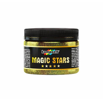"Гліттер MAGIC STARS ""Kompozit"" (золото, 60 г)"