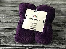 Фіолетове покривало бамбук євро