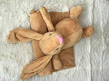 Іграшка-покривало зайчик