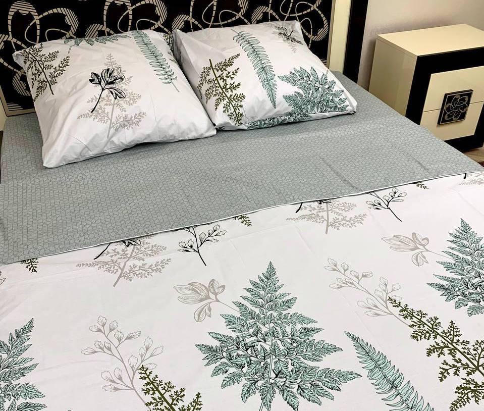 Качественное постельное белье двуспалка Адиантум
