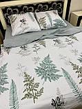Качественное постельное белье двуспалка Адиантум, фото 2