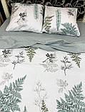 Качественное постельное белье двуспалка Адиантум, фото 3